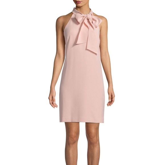 a50ee93e68b Vince Camuto Self-Tie Halter Dress (14)
